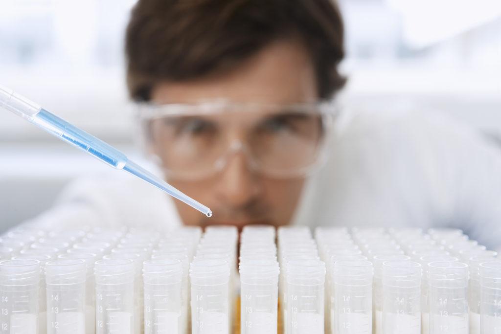 Analyse von Chemikalien zu Qualitätssicherung